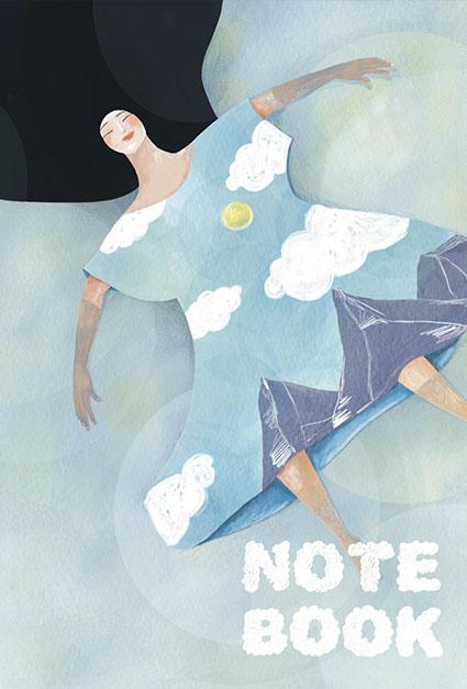 Notebook Emnatsu La rêveuse