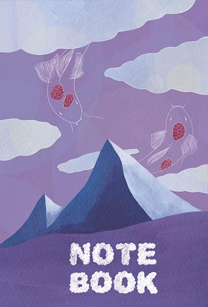 Notebook Emnatsu Les poissons